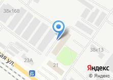 Компания «ТехноСиб» на карте
