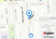 Компания «Ангарская сосна» на карте