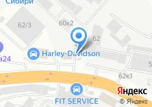 Компания «Новосибирский завод металлоконструкций» на карте