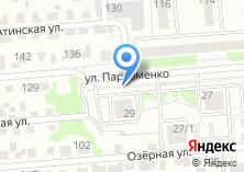 Компания «Автостоянка на ул. Пархоменко» на карте