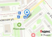 Компания «Арето.ру» на карте