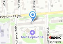 Компания «1РЕФСЕРВИС» на карте