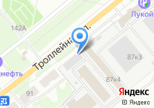 Компания «Воронежпромметиз» на карте