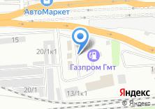 Компания «АГНКС Томскавтогаз» на карте