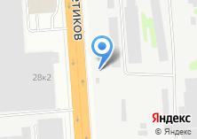 Компания «Колёсникофф» на карте
