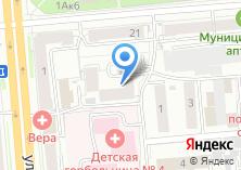 Компания «МСПБ» на карте