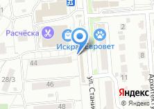 Компания «Магазин мясной и молочной продукции» на карте