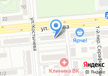 Компания «Айрис Оптика» на карте