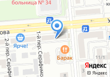 Компания «Потолок в коробке» на карте