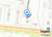 Компания «Автостоянка на Петухова» на карте