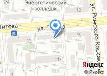 Компания «Аббах-казы» на карте