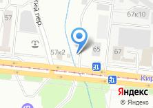 Компания «Сто дорог» на карте