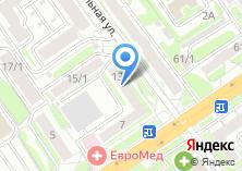 Компания «Новосибирское Экспертное Бюро» на карте