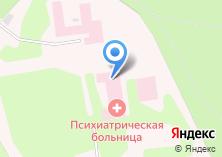 Компания «Новосибирская психиатрическая специализированная больница с интенсивным наблюдением» на карте