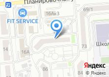 Компания «Сибирьэнерго» на карте