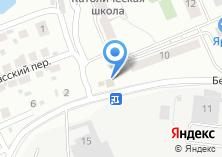 Компания «Продовольственный магазин на Беловежской» на карте