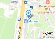 Компания «Жуковского 111» на карте