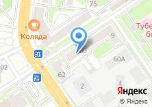 Компания «Дайв Академия» на карте