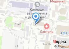 Компания «Элкострим» на карте