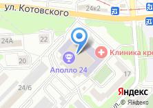Компания «MODENA кухни» на карте