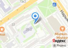 Компания «Техлеспром» на карте