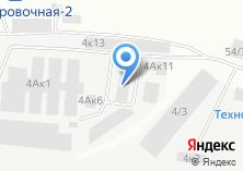 Компания «КнК» на карте