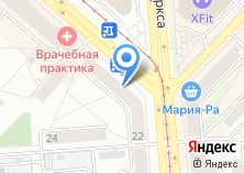 Компания «Олимпия-Райзен-Сибирь» на карте