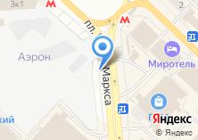 Компания «Автостоянка на площади Карла Маркса» на карте