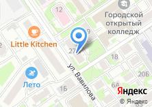 Компания «Комплексный центр социального обслуживания населения Заельцовского района» на карте