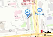 Компания «MinTrans54» на карте