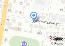 Компания «Сибирская лаборатория авторской моды» на карте