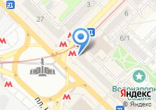 Компания «Метромаркет» на карте