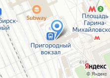 Компания «Экспресс-пригород» на карте