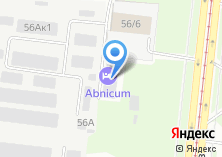 Компания «Абникум» на карте