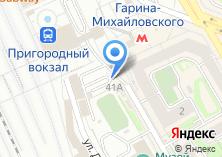 Компания «Автостоянка на ул. Дмитрия Шамшурина» на карте