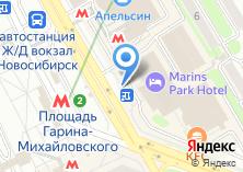 Компания «Русские блины» на карте