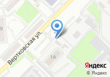 Компания «Автостоянка на Вертковской» на карте