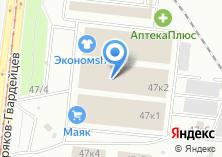 Компания «Двернов» на карте