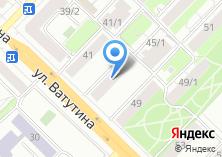 Компания «Сибирский Проектно-Экспертный Центр» на карте