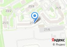 Компания «Инвент-Сибирь» на карте