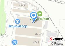 Компания «Гараж» на карте