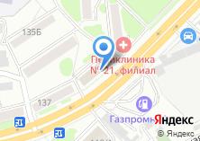 Компания «Рослесинфорг» на карте