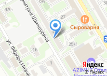 Компания «Управление вневедомственной охраны по г. Новосибирску» на карте