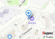 Компания «А-Авто» на карте