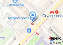 Компания «Станция Студенческая» на карте