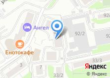 Компания «Комплексная безопасность» на карте