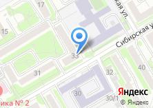 Компания «Акмос» на карте