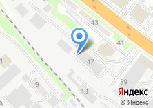 Компания «Трансэкспресс 54» на карте