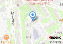 Компания «АВАРИЙНАЯ СЛУЖБА MASTER-KEY» на карте