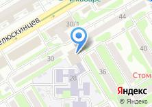 Компания «Виза-Экспресс» на карте